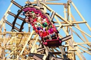 Silver Dollar City Roller coaster